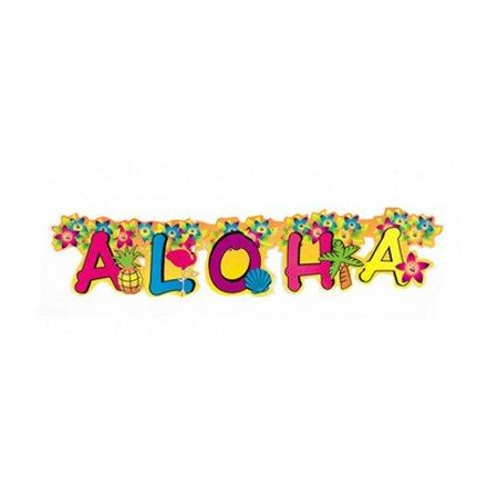 Aloha Banner (Aloha Cardboard Jointed Banner)