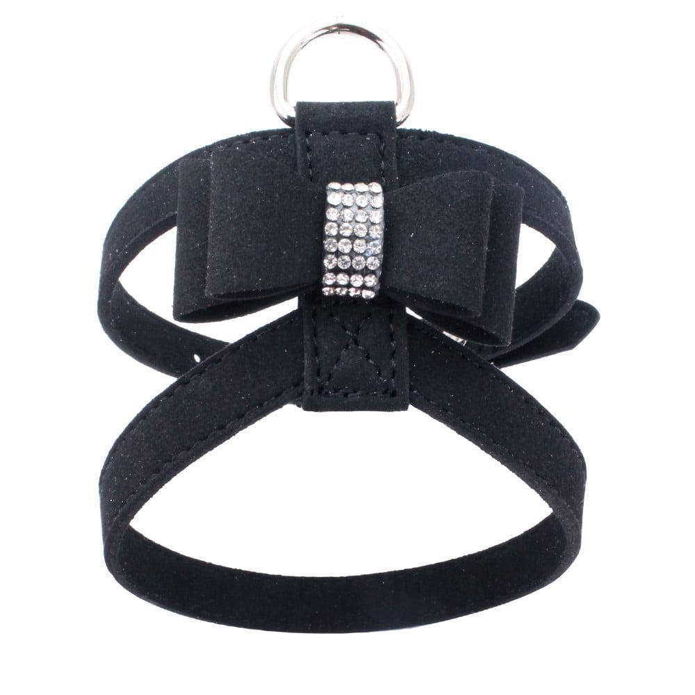 Adjustable Pet Dog Leads Bowknot Diamond Chest Straps