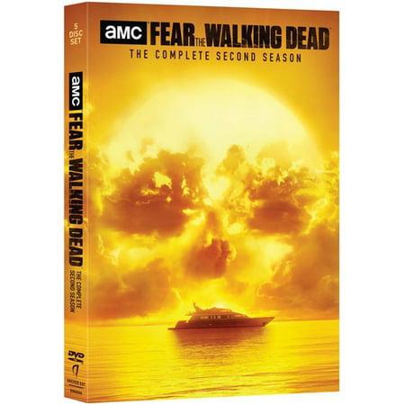 Fear the Walking Dead: The Complete Second Season (DVD) - Party City Walking Dead