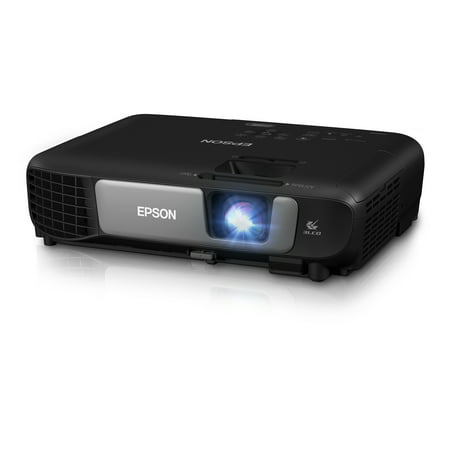 Pro Universal Projector Kit (Epson Pro EX7260 WXGA 3,600 lumens color brightness (color light output) 3,600 lumens white brightness (white light output) wireless HDMI MHL 3LCD projector )
