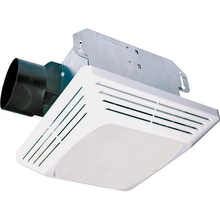 Air King Advantage ASLC70 Decorative Exhaust Fan/Light Combo, 100 W, 120 V, 1.6 A, 70 cfm