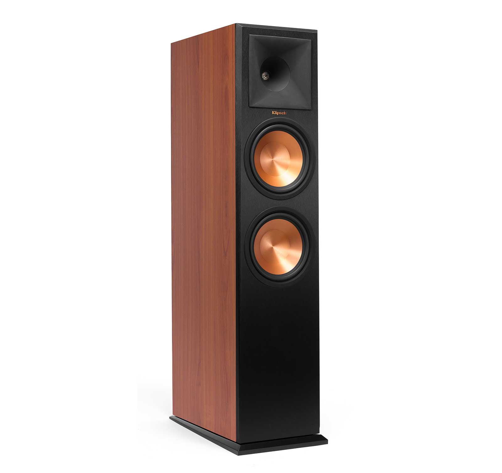 Klipsch RP280FA Cherry Vinyl Atmos Tower Speaker by Klipsch