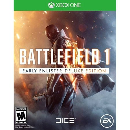 Battlefield 1 Early Enlister Deluxe Edition  Xbox One