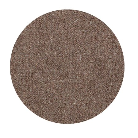 Color World Collection Pet Friendly Indoor Outdoor Area Rugs Brown - 4' Round ()