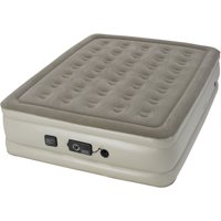 """Insta-bed 19"""" Raised Queen Air Mattress with NeverFLAT AC Pump, multiple colors"""