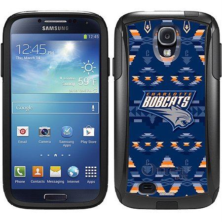 Charlotte Bobcats Tribal Print Design on OtterBox Commuter Series Case for Samsung Galaxy S4 by