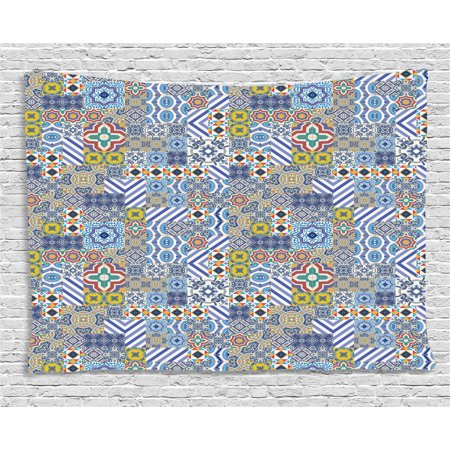 Moroccan Tapestry Gorgeous Middle Eastern Pattern Azulejo Ceramic Fascinating Middle Eastern Patterns