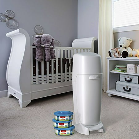 Playtex Baby Diaper Genie Diaper Disposal Pail System Refills, 720 Ct