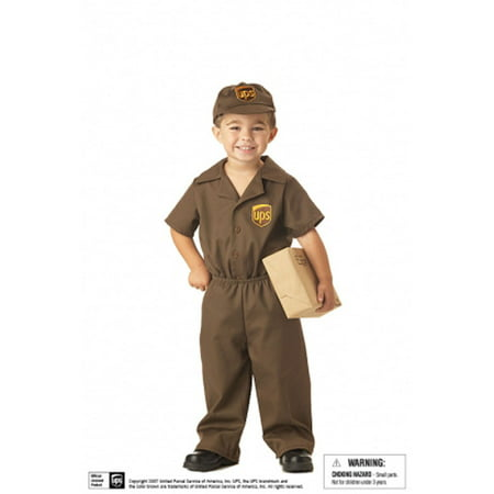 Cool Halloween Costumes For Guys (The UPS Guy Toddler Costume Size)