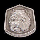West Highland Terrier Fine Pewter Dog Breed Ornament