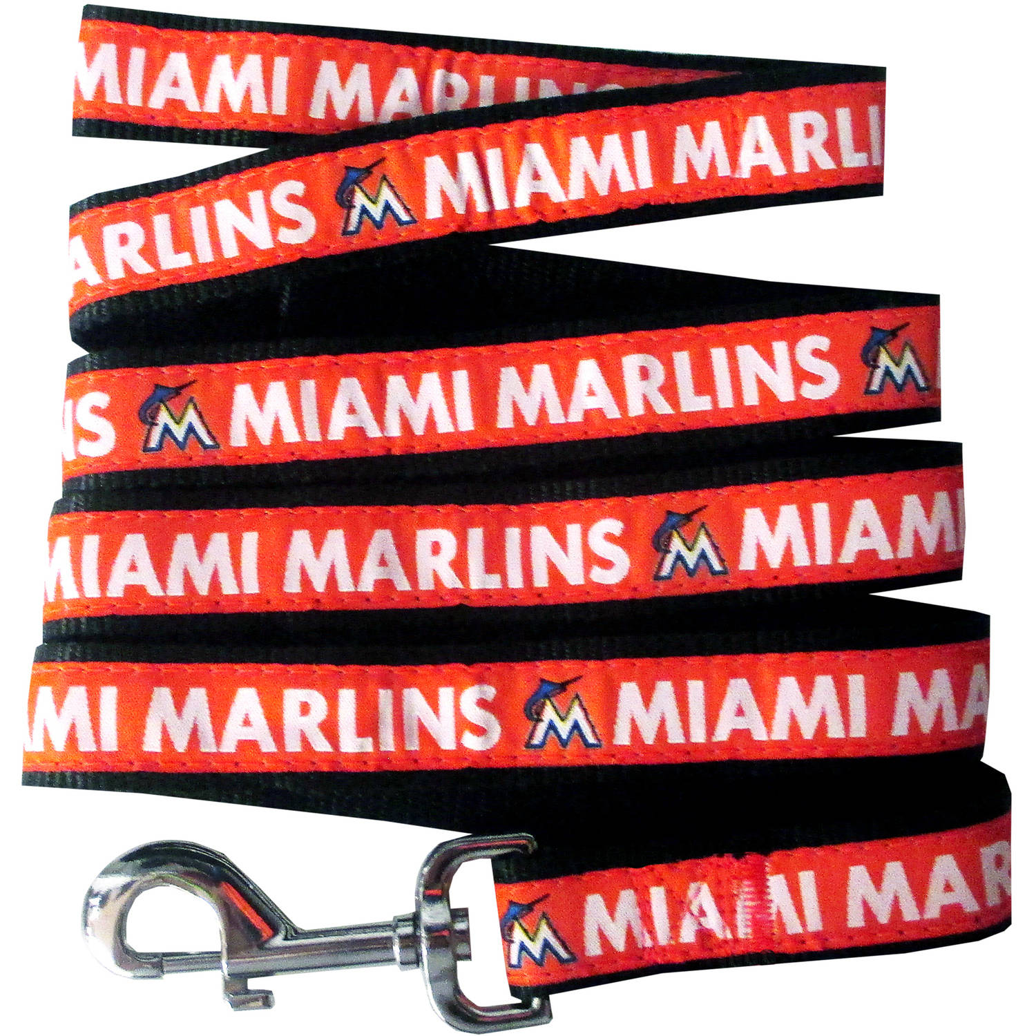 Pets First Miami Marlins Pet Leash, Small