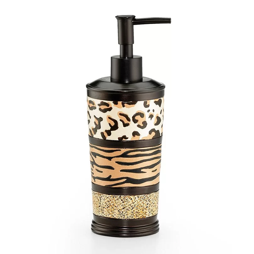 Popular Bath Gazelle Animal Print Bathroom Lotion Soap Dispenser