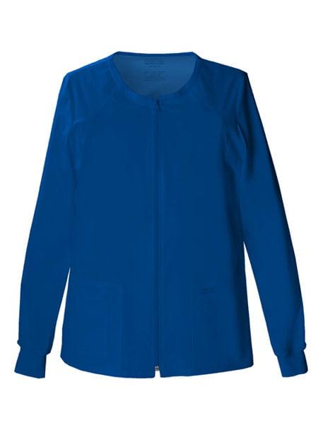 Cherokee Women's Warm Up Jacket Scrub Jacket