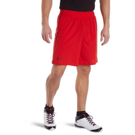 Adidas 8 Inch Shorts - Under Armour HeatGear Mirage 8 Inch Running Shorts - SS17 - X Large - Red