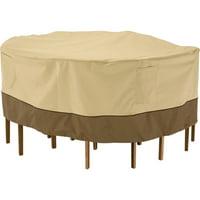 Classic Accessories Veranda Round Patio Table & Chair Set Cover