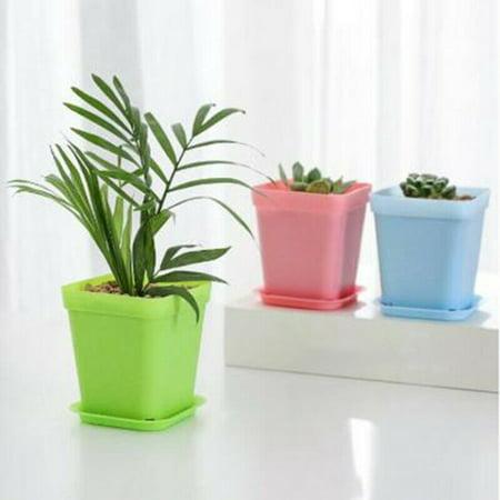 Office Succulent Nursery Vase Flower Pots Mini Basin Plant Decor Tray