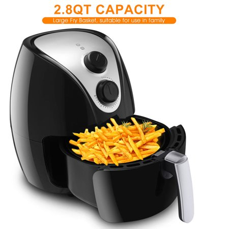 Costway 1500w Electric Air Fryer Cooker W Rapid Air