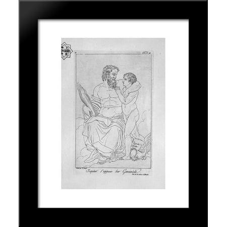 Jupiter And Ganymede 20X24 Framed Art Print By Piranesi  Giovanni Battista