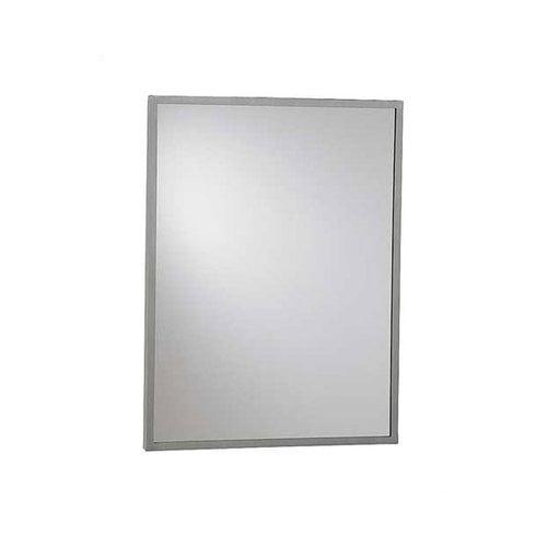 American Specialties Inter-Lok Angle Frame Wall Mirror