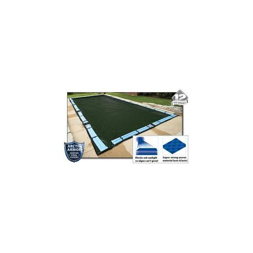 Arctic Armor WC856 12 Year 24'x40' Rectangle In Ground Swimming Pool Winter Covers