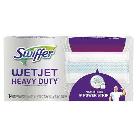 Westjet Airlines (Swiffer WetJet Heavy Duty Mopping Pad Refill, 14 Count)