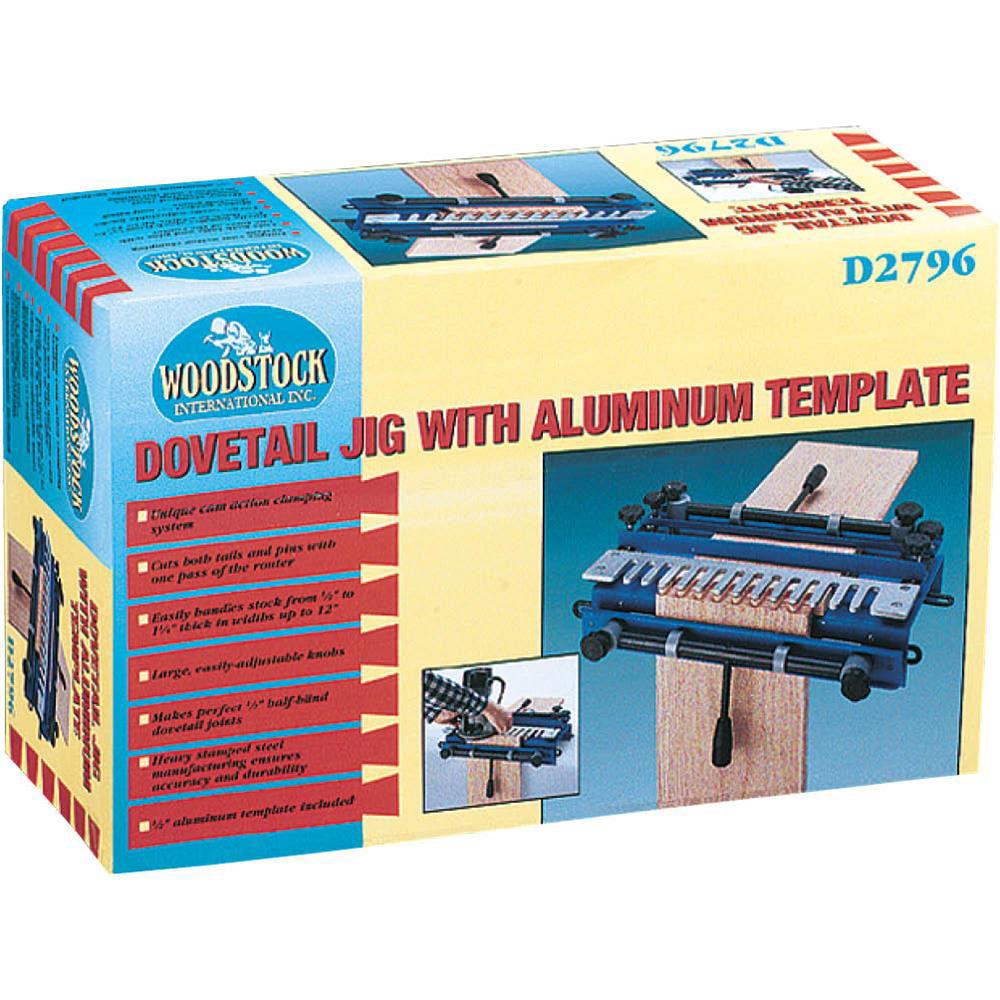 Woodstock D2796 Dovetail Jig w/ Aluminum Template - Walmart.com