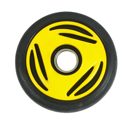 PPD Yellow Idler Wheel 135MM O.D. X 25MM I.D. for BOMBARDIER/SKI-DOO All models GT/Legend 2002-2005