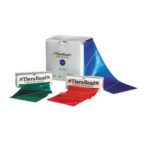 Thera Band Exercise Band  50 Yd Roll  Blue  Extra Heavy