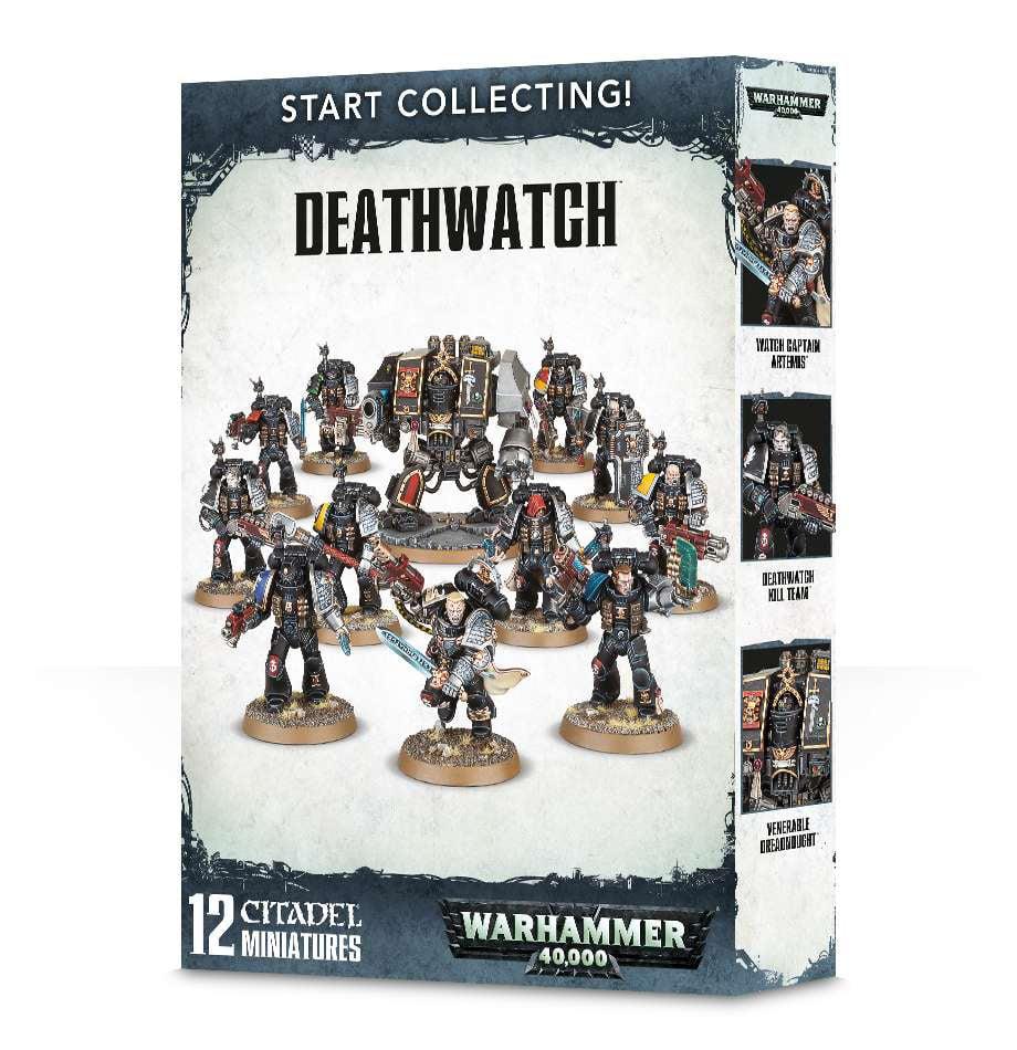 Warhammer 40,000 Start Collecting! Deathwatch Miniatures by