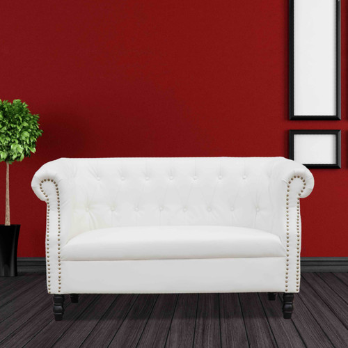 Fine Mod Imports Chester Chesterfield Loveseat