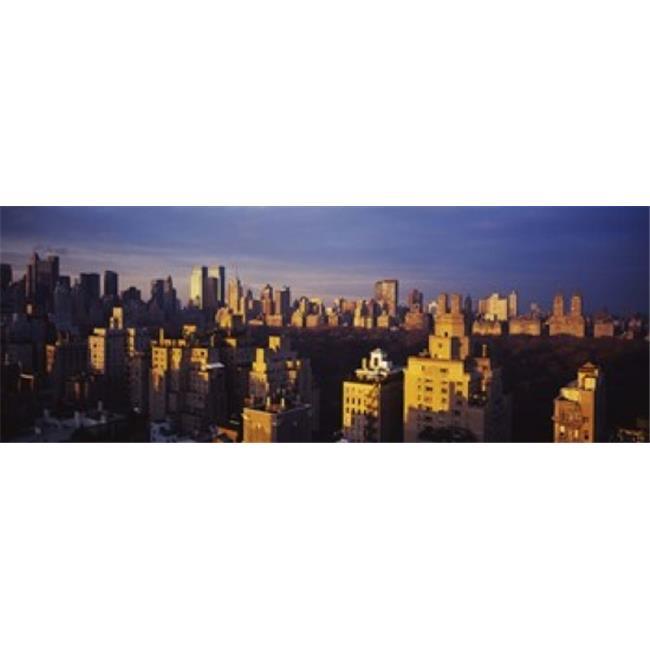 Images panoramiques PPI98877L High angle de vue d'une copie d'affiche de paysage urbain Central Park de Manhattan - New York -tat de New York par images panoramiques - 36 x 12 - image 1 de 1