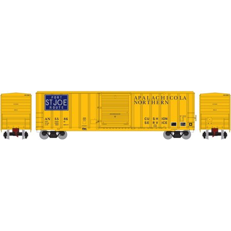 Athearn Ho Scale 50Ft Fmc 5347 Box Car Apalachicola Northern An Port Stjoe  5586