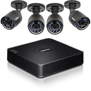TRENDnet TV-DVR104K 4-Channel HD CCTV DVR Surveillance Kit