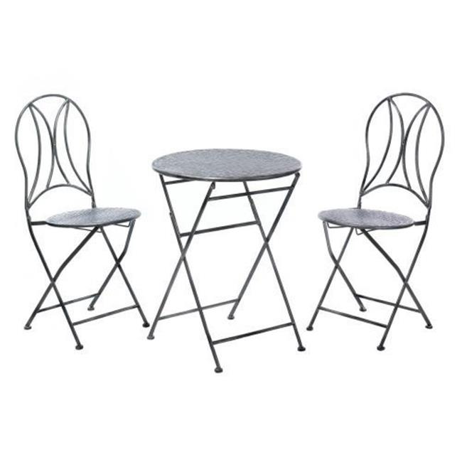 Home Locomotion 849179027940 Hammered Textured Patio Set - image 2 of 2