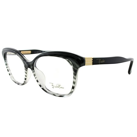 Emilio Pucci  EP 2697 006 Womens  Rectangle (Zebra Eyeglass Frames)