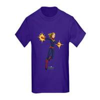 CafePress - Captain Marvel Kids Dark T Shirt - Kids Dark T-Shirt