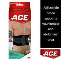 0a99e9eb6e Product Image ACE Brand Back Brace, Adjustable, Black/Gray, 1/Pack