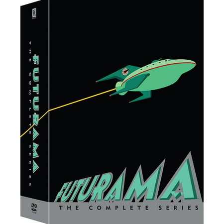 Futurama Complete Collection Seasons 1-8 (Halloween 1-8 Collection)