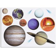 """Bright Creations Graphic Prints Space Poster, 17.7"""" x 24"""", Set of 2"""