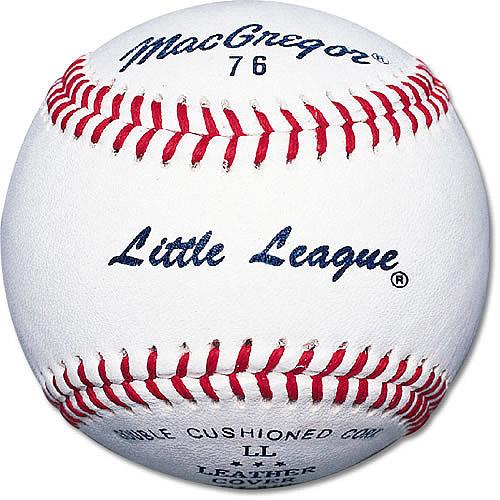 MacGregor #76C Little League Baseball, White