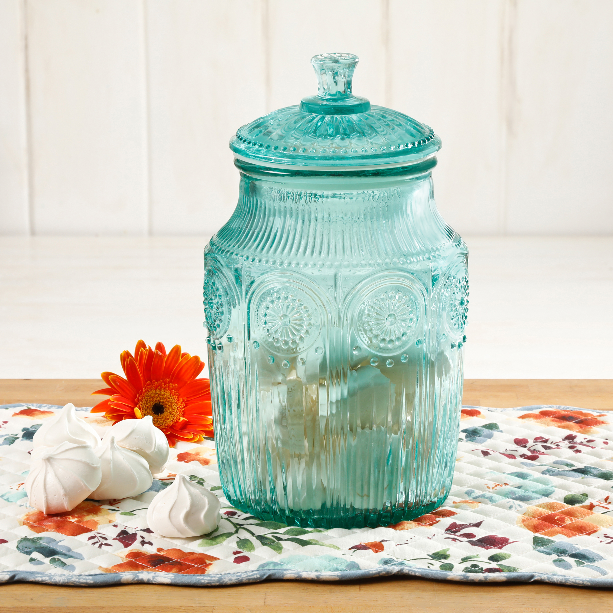 The Pioneer Woman Adeline Glass Canister, Multiple Colors