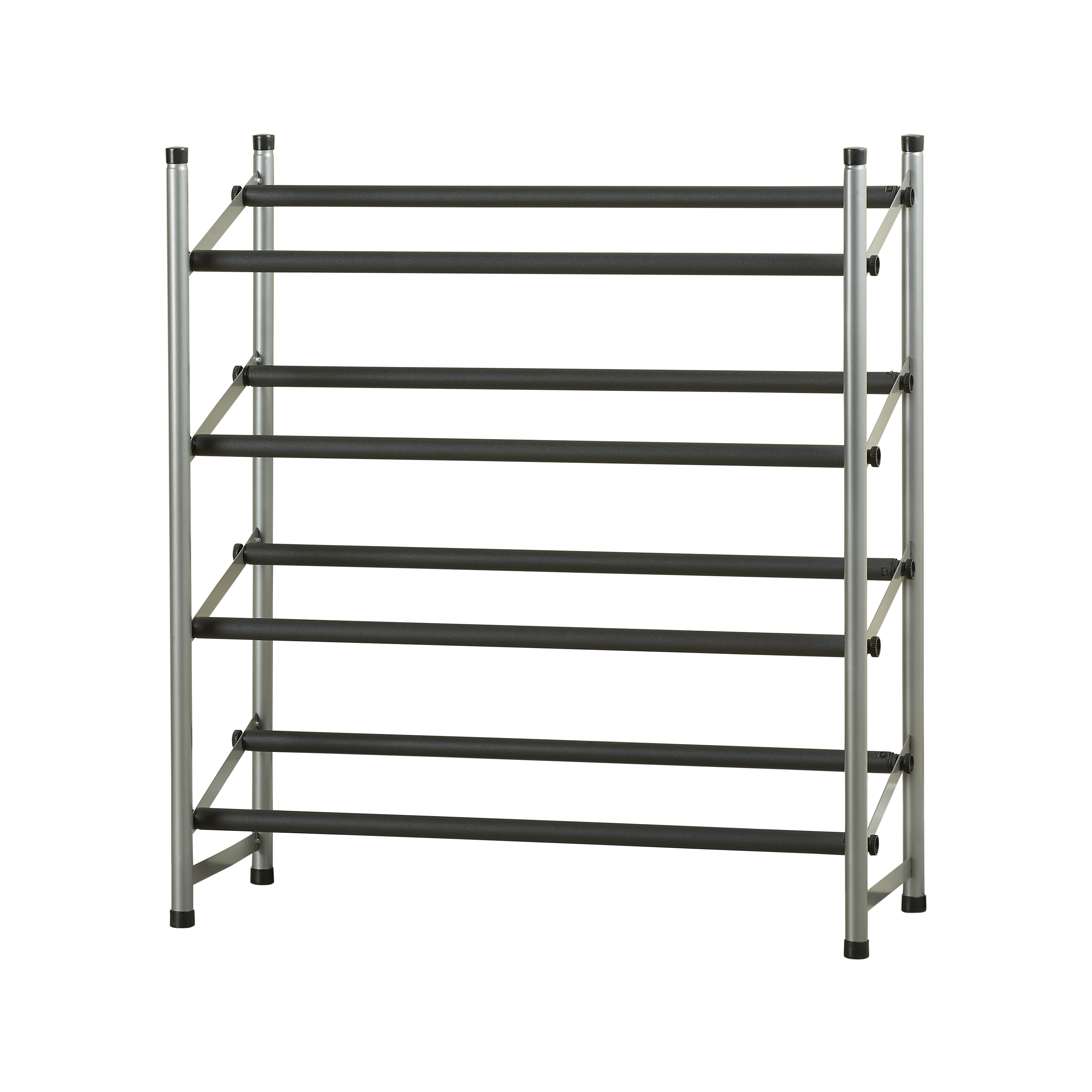 Mainstays 4-Tier Shoe Rack Storage Organizer