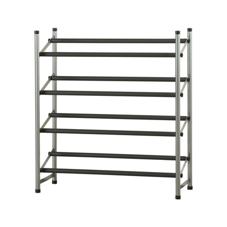 Mainstays 4-Tier Shoe Rack Storage Organizer
