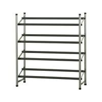 Product Image Mainstays 4 Tier Shoe Rack Storage Organizer