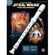 Selections from Star Wars for Recorder: Book Only (Paperback)