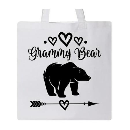 Grammy Bear Grandma Gift Tote Bag White One Size](White Tote Bags)