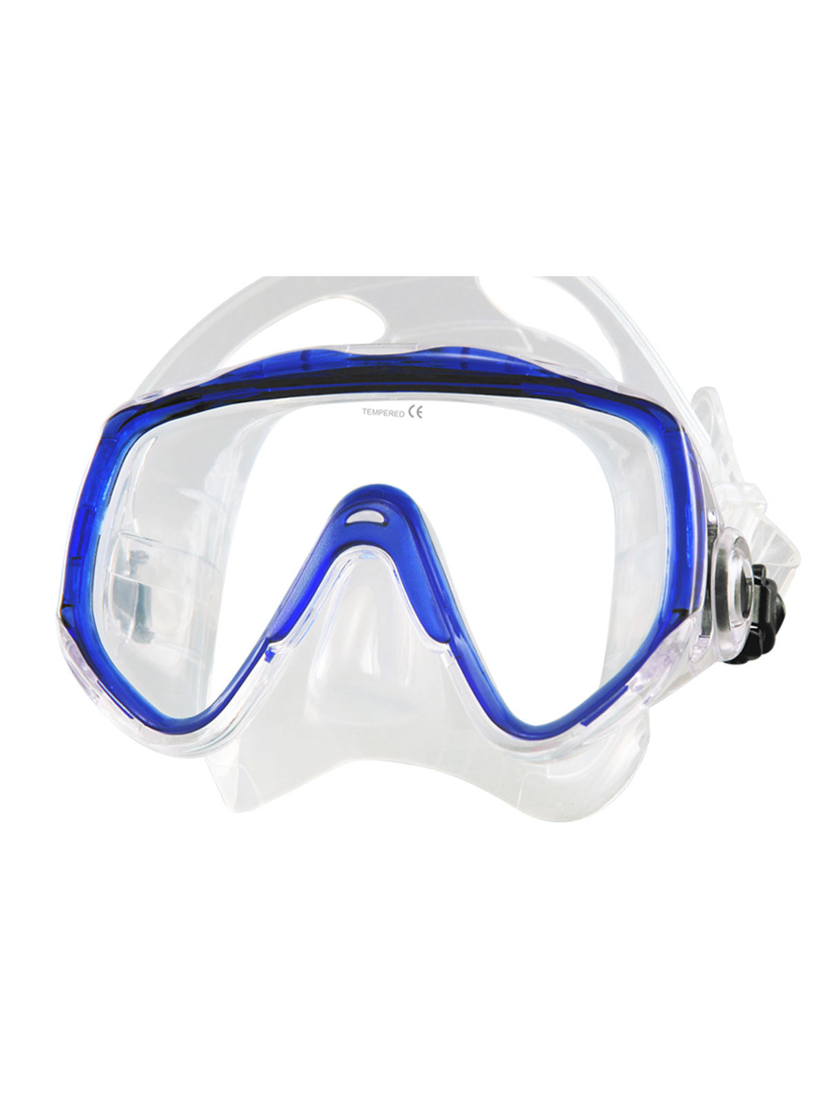 Tilos Premium Titanica Scuba & Snorkel Mask for Large Faces by Tilos