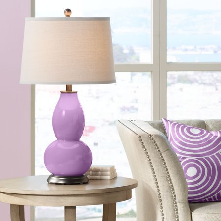 Color + Plus African Violet Double Gourd Table (African Gourd)