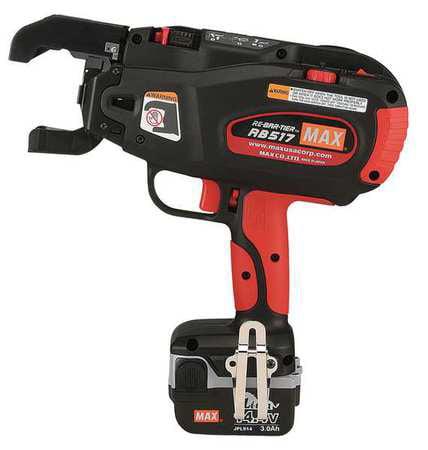 MAX RB518 Rebar Tying Tool Kit,14.4V,21 ga. G4938552