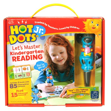 Hot Dots Jr. Lets Master Kindergarten Reading